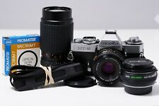 Minolta XD 5 with MD Rokkor-X  45mm 2.0 New Light seals ===Works very well===