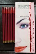 """8 pcs NY Apple LIP 7"""" PENCILS USA Lot of 8 pencil makeup"""