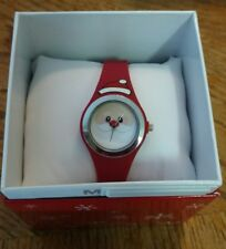 MIXIT Red Santa Clause Holiday Silicone Band Womens JCPenney Watch NEW!