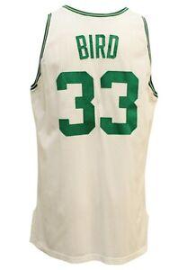 Larry Bird 1991-92 Game Worn Boston Celtics Home Jersey Grey Flannel LOA HOF
