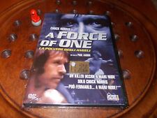 A Force Of One   Editoriale  Dvd ..... Nuovo