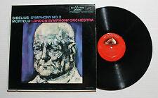 SIBELIUS MONTEUX Symphony No. 2 LP RCA Rec LM-2342 US 1959 VG++ 6F