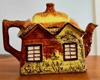 Teapot Ye Olde Cottage - Cottage Ware - Price Kensington Hand Painted C1935-1940