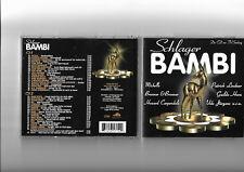 Schlager Bambi 2 CD-Set NEU/OVP Best of Udo Jürgens Rosenstolz Michelle TV-Sendu