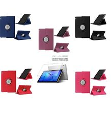 Funda Huawei Mediapad T3 10 9.6 Pulgadas Tablet GIRATORIA 360º + Cristal