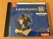 Mathematik CD Rom Lernsoftware 5 Klasse Lernvitamin Kompletttrainer
