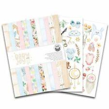 Paper-pad Papier-block Baby Joy Geburt Taufe Hintergrund A5 Piatek P13-BAB-10