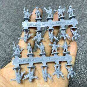 Lot 20 Caesar Miniatures 1/72 131 US Counter-Terrorist Elite Forces Figures #K6