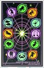 Signs Of The Zodiac Blacklight Poster 23 x 35