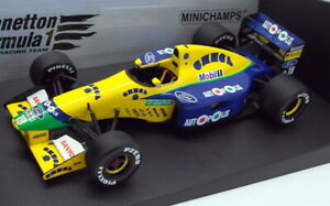 Minichamps 1/18 Scale Diecast - 100 910119 Benetton Ford B191 M. Schumacher