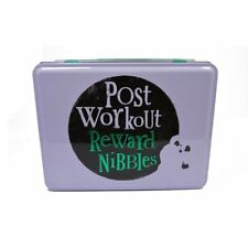 Bright Side Nibbles Tin - Post Workout Reward Nibbles Storage Tin
