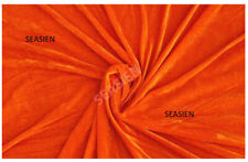 1 PC Orange Velvet Bean Bag Cover Fully Washable (Without Beans) Free Shipping