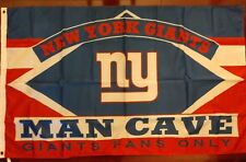 New York Giants Man Cave 3x5 Flag. US seller. Free shipping within the US