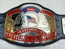 NWA UNITED STATES HEAVYWEIGHT WRESTLING CHAMPION 4MM IN ZINC PLTAED