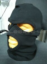 Balaclava mask, black and olive. 100% cotton. Made in Russia.
