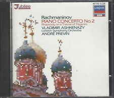 Ashkenazy: Rachmaninov [Rachmaninoff] Piano Concerto 2, Rhapsody Theme Paganini