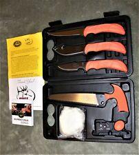 Rmef Outdoor Edge Elk-Pak Knife/Saw Set