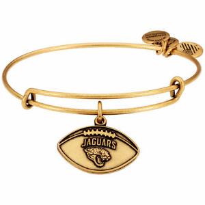 Alex And Ani -  NFL JACKSONVILLE JAGUARS Charm Bangle Bracelet