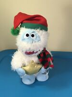 Bumble Snowman Rudolph Red Nose Reindeer Sings Holly Jolly Christmas SEE VIDEO!