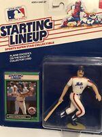 1989 Starting lineup Keith Hernandez Baseball figure Card New York Mets toy MLB