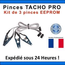 Kit de 3 Pinces COMPATIBLE TACHO PRO - EEPROM - TACHO PRO CLIPS - DIGIPROG