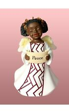 PEACE African American Angel Christmas Ornament, by United Treasures