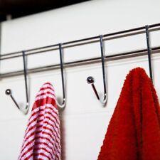 Türgarderobe 6 Haken Garderobe Tür Kleider Handtuch Halter Leiste Universal