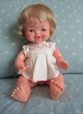 Vintage 1960's Chiquitina Famosa Doll Anatomically Correct Baby Girl