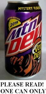 Mountain Voo Dew VooDew Candy Corn Halloween 2019 FULL NEW 12oz Can Pepsi USA