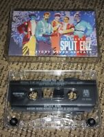 Split Enz History Never Repeats The Best Of greatest hits 1987 Audio Cassette