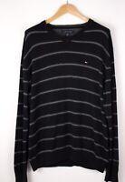 Tommy Hilfiger Herren Freizeit Pullover Sweatshirt Größe XL ASZ715