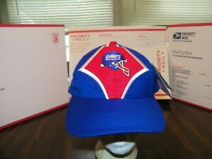 """NEW YORK GIANTS RARE STARTER CAP STRAP BACK NFL PRO LINE """"THE RIGHT HAT"""" NOS/NWT"""
