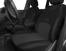 2 BLACK GREY FRONT CAR SEAT COVERS PROTECTORS FOR BMW 3 SERIES E90