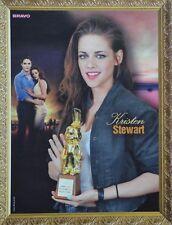 KRISTEN STEWART - A4 Poster (ca. 21 x 28 cm) - Twilight Clippings Fan Sammlung