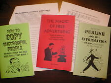 BUSINESS, ADVERTISING, SUCCESS book lot + 2 FREE GIFTS!