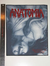 ANATOMIA - Decaying in Obscurity back patch 14x12 inches