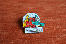 09989 PINS PIN'S DISNEY EURODISNEY FRONTIERLAND TRAIN ESSO