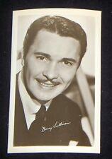 Barry Sullivan 1940's 1950's Actor's Penny Arcade Photo Card
