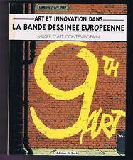La Bande Dessinée Européenne. De Buck 1987. Hergé
