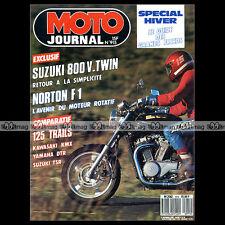 MOTO JOURNAL N°915 RMX 250 SUZUKI TSR 125 KAWASAKI KMX 125 YAMAHA DTR 1989