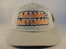 Harley Davidson Vintage Strapback Hat Cap American Needle Khaki
