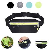 Waterproof Belt Fanny Pack Waist Pouch Sport Running Camping Hiking Zip Bag