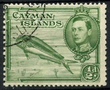 Used Postage Caymanian Stamps