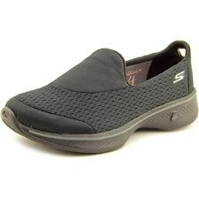 Skechers Ladies Go Walk 4 Pursuit Black Slip on Trainers Memory Foam UK 6 EU 39