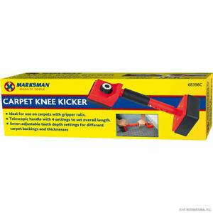 Professional Knee Kicker Stretcher Carpet Fitters Gripper Tool - Red 68398C
