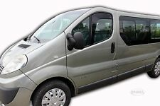 DOP25348 Opel Vivaro 2 Puertas 2001-2013 HEKO Derivabrisas Negro 2 Piezas Kit