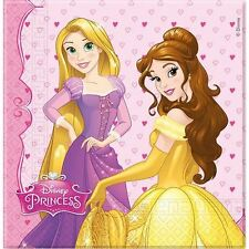 Disney Princess Dreaming Girls Birthday Party Paper Napkins Serviettes - 20 pack