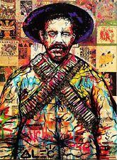 "Alec Monopoly Amazing HD print on Canvas Urban art Wall Decor Mexican 24x36"""