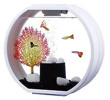 Fish R FUN, Deco Mini Peces Tanque 10L Blanco