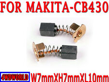 Carbon Brushes For Makita CB430 7X7X10mm 6217D 8433D 6343DWDE 6337DWDE OZ